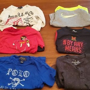 Lot of 6 boys shorts, size 2t